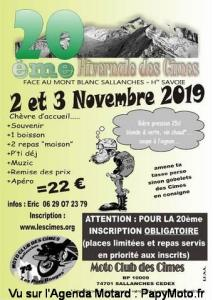 20e Hivernale des cîmes - Moto Club des Cîmes - Sallanches (74) @ Sallanches | Auvergne-Rhône-Alpes | France