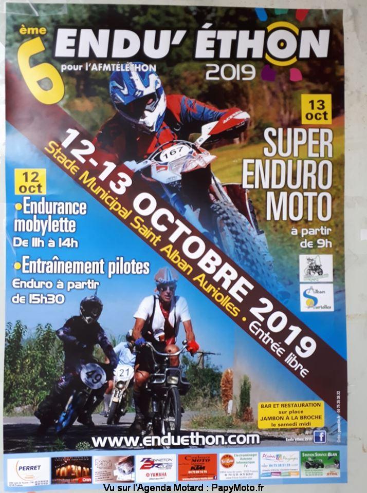 6e Endu' éthon 2019 – Saint-Alban-Auriolles (07)