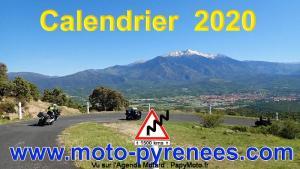Moto-Pyrénées: Calendrier Route 2020 @ Pyrénées (France, Espagne, Andorre) |  |  |