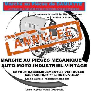 Marché au Pièces de Damiatte -  Damiatte (81)----ANNULE---- @ Place de la Liberté Avenue de Graulhet | Damiatte | Occitanie | France