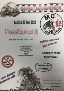 24ème concentre Les Barjos - Maresquel-Ecquemicourt (62) @ Maresquel ecquemicourt (62) | Maresquel-Ecquemicourt | Hauts-de-France | France