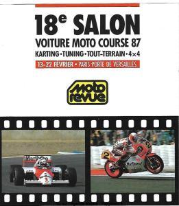 18e Salon voiture moto course 87 - Paris (75) @ Paris | Île-de-France | France