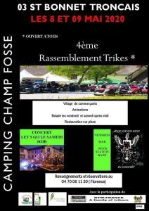 Allier '4 eme rassemblement en trike- Saint Bonnet de Tronçais (03) @ Saint Bonnet de Tronçais   Saint-Bonnet-Tronçais   Auvergne-Rhône-Alpes   France