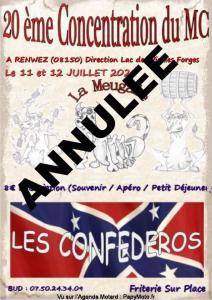 20 Ème Concentre Du MC Les Confederos - Renwez (08)----ANNULE---- @ Renwez(08)