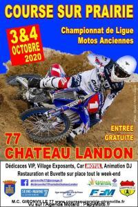 Course sur prairie - Chateau Landon (77)