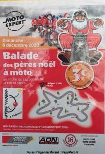 Balade des Pères Noël à Moto  - Cognac (16) @ Cognac (16)