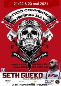 Tattoo Convention - Burning Days - Chalon-sur-Saône (71) @ Chalon-sur-Saône (71)