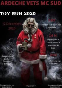 Toy Run 2020 - Ardèche Vets MC Sud - Largentière (07) @ Largentière (07)