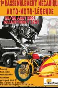 1er Rassemblement mécanique Auto - Moto - Légende - Valentigney (25) @ Valentigney (25)