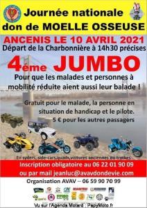 4e Jumbo – Pour le Don de Moelle Osseuse – Ancenis (44)----ANNULE---- @ Ancenis (44)
