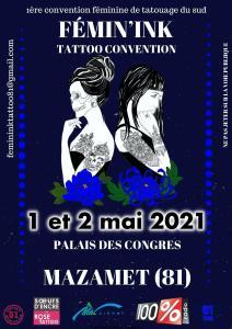 Fémin'ink – Tattoo Convention – Mazamet (81) @ Mazamet (81)