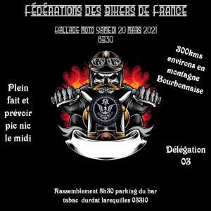 Balade Moto - FBF 03 - Durdat Larequilles (03) @ Durdat Larequilles (03)