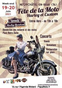 Fête de la Moto Harley et Custom - Neufchâtel en Bray (76) @ Neufchâtel en Bray (76)