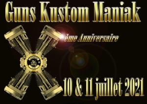 GUNS KUSTOM MANIAK - GUNFIGHTERS MC LYON - Irigny (69) @ Irigny (69)