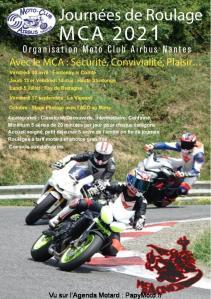 Journées de Roulage Moto Club Airbus Nantes