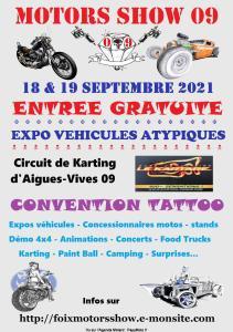 Motor Show 09 – Aigues-Vives (09) @ Aigues-Vives (09)