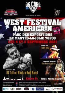 West Festival Américan 2021 – Mantes-la-Jolie (78) @ Mantes-la-Jolie (78)