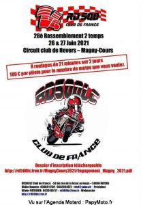 28e Rassemblement 2 Temps - Magny-Cours (58) @ Magny-Cours (58)