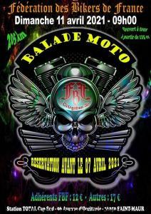 Balade Moto - FBF 36 - Saint Maur (36) @ Saint Maur (36)