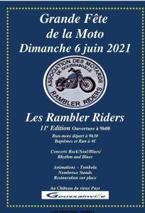Grande fête de la Moto - Les Rambler Riders - Goussainville (95) @ Goussainville (95)