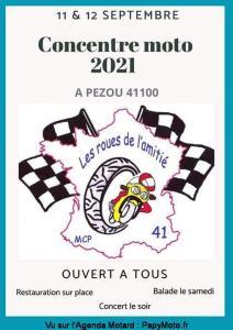 Concentre moto 2021 - Les roues de l'amitié - Pezou (41) @ Pezou (41)