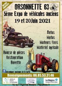 5e Expo de véhicules anciens  - Orsonnette (63) @ Orsonnette (63)