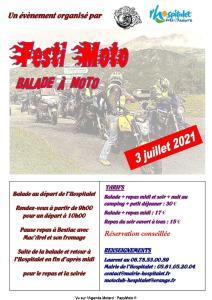Festi Moto - Pétofums - L'Hospitalet près l'Andorre (09) @ L'Hospitalet près l'Andorre (09)