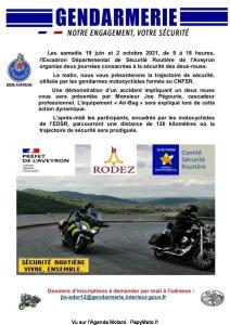 Journée sécurité des 2 roues - Rodez (12) @ Rodez (12)
