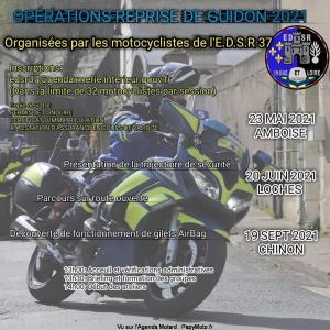 Opération reprise de guidon 2021 - EDSR 37 - Amboise - Loches - Chinon (37) @ - Amboise - Loches - Chinon (37)