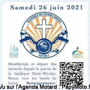 Pèlerinage des motards Nantais - Nantes (44) @ Nantes (44)