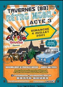 Rétro Mobil - Tavernes (83) @ Tavernes (83)