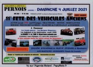 11e Fête des véhicules anciens - Pernois (80) @ Pernois (80)