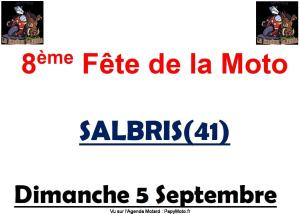 8e Fête de la moto - Salbris (41) @ Salbris (41)