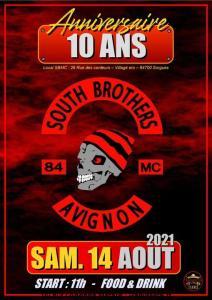Anniversaire 10 Ans - South Brothers Avignon - Sorgues (84) @ Sorgues (84)