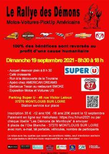 Le Rallye des Démons – Montlouis sur Loire (37) @ Montlouis sur Loire (37)