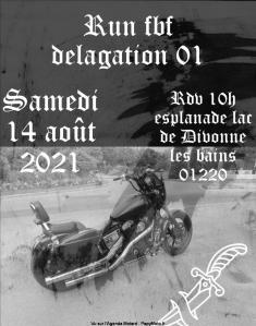 Run - FBF 01 - Divonne les Bains (01) @ Divonne les Bains (01)