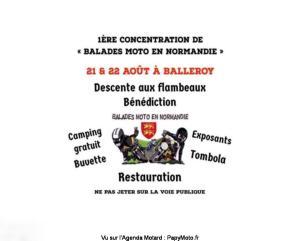 """1e Concentration de """"balade en Normandie"""" - Balleroy (14) @ - Balleroy (14)"""