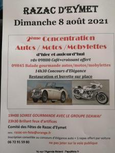 2e Concentration Autos/Motos/Mobylettes - Razac-d'Eymet (24) @ Razac-d'Eymet (24)