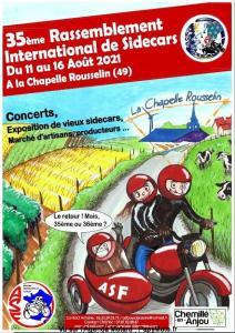 35e Rassemblement International de Sidecars ASF – La chapelle Rousselin (49) @ La chapelle Rousselin (49)