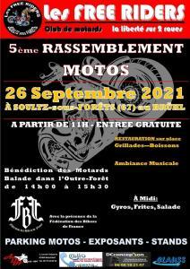 5e rassemblement Motos - Free Riders - Soultz-sous-Forêts (67) @ Soultz-sous-Forêts (67)