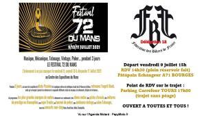 WE Festival 72h du Mans - FBF 18 - Bourges (18) @ Bourges (18)