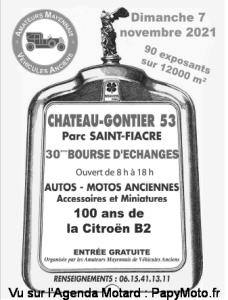 30e BOURSE d'ECHANGES AUTO MOTO - Château-Gontier (53) @ Château-Gontier (53)