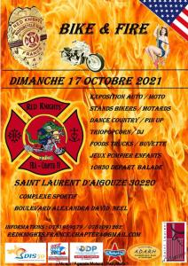 BIKE & FIRE - Red Knight Chapter IV - Saint Laurent d'Aigouze (30) @ Saint Laurent d'Aigouze (30)