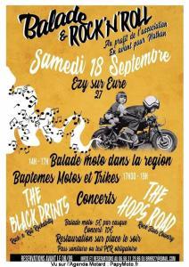 Balade et Rock n'roll – Ezy sur Heure (27) @ Ezy sur Heure (27)