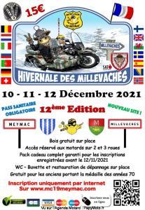 12e Hivernale des Millevaches – Meymac (19) @ Meymac (19)
