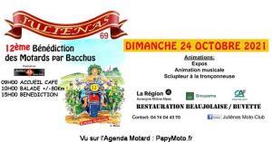 12e bénédiction des motards par Bacchus – Julienas (69) @ Julienas (69)