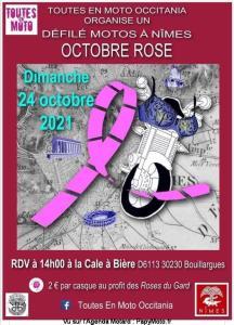 Défilé moto Octobre Rose - Toutes en Moto Occitania  – Bouillargues (30) @ Bouillargues (30)