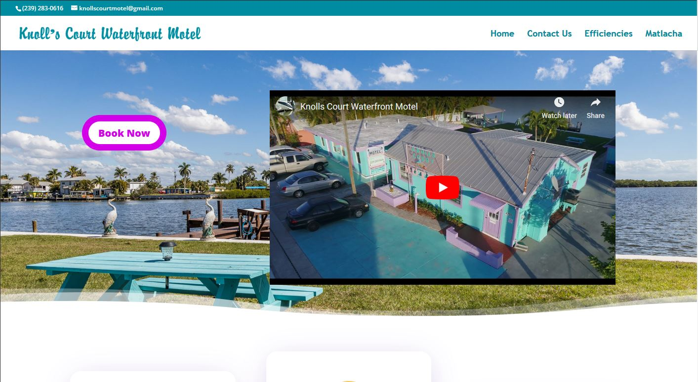 Knoll's Court Waterfront Motel