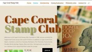 Cape Coral Stamp Club Home Page