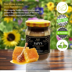 Papy's Original Forest & Wildflower Honey (0.7 Kg) – 100% Natural, Ecological and Fairtrade